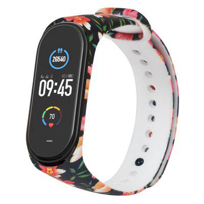 TAMISTER Painted Pattern Personalized Print Smart Watch Wristband Replacement Strap for Xiaomi Mi 5