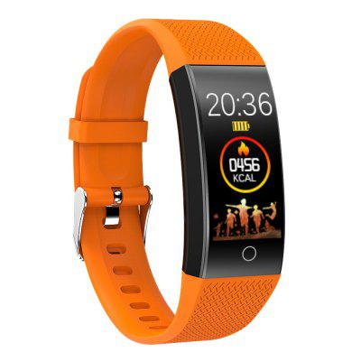 QW18T Thermometer Measured Heart Rate Sleep Exercise IP68 Waterproof Camera Bluetooth Smart Bracelet