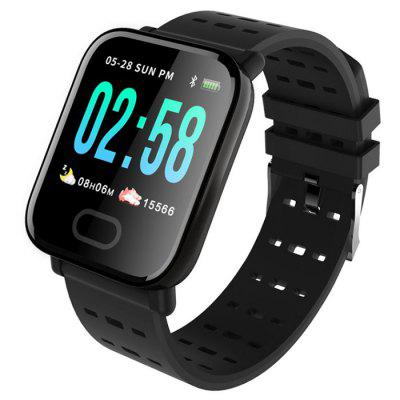 Gocomma A6 Color Screen Smartphone Watch Real-time Monitoring Of Heart Rate, Blood Pressure, Sleep Waterproof