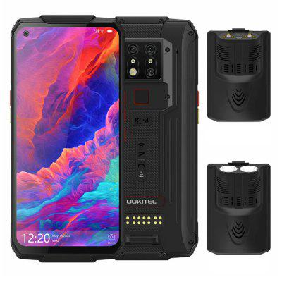 OUKITEL WP7 4G Smartphone MediaTek Helio P90 6.53 inch 48M + 8M + 2M Rear Camera 16MP Front Camera Android 9.0 8GB RAM 128GB ROM 8000mAh Battery IP68 Waterproof Global Version Image