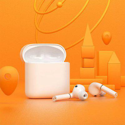 Haylou T19 TWS + Bluetooth Headphones Smart Noise Cancelling Wireless Charging Earphones From Xiaomi Youpin - White