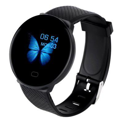 D19 Smart Watch Women Heart Rate Blood Pressure Monitor Men Bluetooth Smartwatch Wristband Fitness Tracker honor band 6 smart wristband 1 47 inch amoled touch screen professional sports fitness tracker heart rate blood oxygen monitor long standby smart watch
