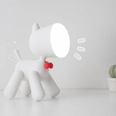 Variety Puppy Table Lamp LED Cartoon USB Two Gear Dimming Bedroom Learning  Lights Bedside Children Sleeping Night Light