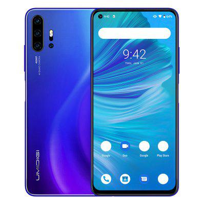 UMIDIGI F2 4G Smartphone Helio P70 Octa Core 6.53 inch 48M + 13M + 5MP + 5MP Rear Camera 5150mAh Global Version Image