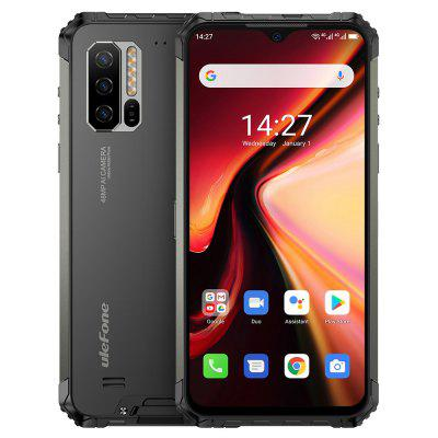 Ulefone Armor 7 4G Smartphone 6.3 Inch Android 9.0 Helio P90 Octa Core 2.2GHz 8GB RAM 128GB ROM 3 Rear Camera 5500mAh Battery IP68 / IP69K Waterproof Heart Rate Sensor Global Version Image