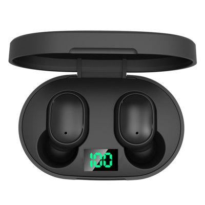 Elephone Elepods 1 Digital Display TWS Bluetooth 5.0 Wireless Earbuds Hi-Fi Sound Quality Headphones with Charging Compartment