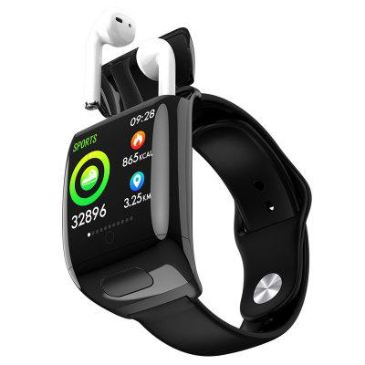 G36 Bluetooth Headset Smart Watch 2-in-1 TWS Earphone Smartwatch Image