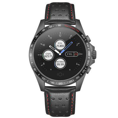 Imosi CK23 Smart Watch Leather Band Color Screen Multifunction Sports Waterproof Smartwatch Image