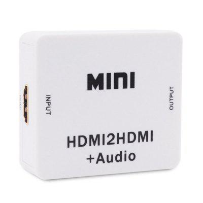 HDMI to HD Video Converter Audio Splitter Decoder Adapter + AUDIO