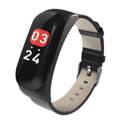 C15 Color Screen Bluetooth Calling Headset Smart Bracelet Colorful Fashion Real-time Monitoring Music Reminder Multi-function Sports Wristband