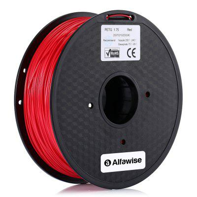 Alfawise 1.75mm PETG 3D Printer Filament High-quality for Artillery Alfawise ANYCUBIC Creality All FDM 3D Printer