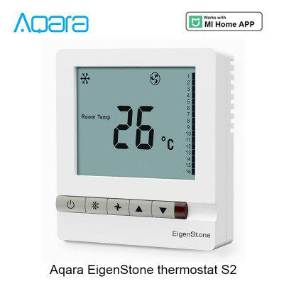 Aqara S2 WiFi Smart Thermostat Temperature Controller for Water / Electric Floor Heating Water / Gas Boiler Works with Mijia APP