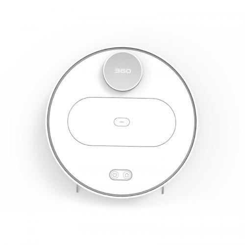360 S6 Robot Vacuum Cleaner 1800Pa Suction Mopping Sweeping Mode APP Remote...