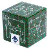UV Printing Circuits Pattern Relief Third-order Magic Cube Brain Development Physics Learning Cubes - Peacock Blue