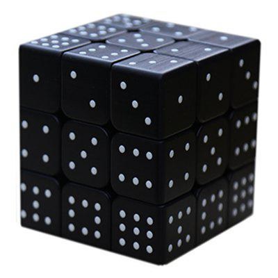 УФ-печати 3x3x3 Blind Рельефный Magic Cube Braille Cube Puzzle игрушки Sudoku Cube UV Print 3x3x3 Blind Embossed Magic Cube фото