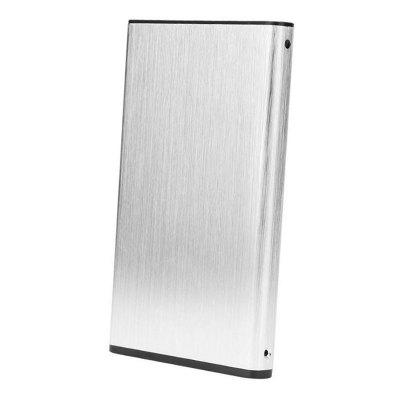 2.5 inch USB3.0 to SATA External Enclosure Plug and Play Metal Material Portable High-speed Transmission