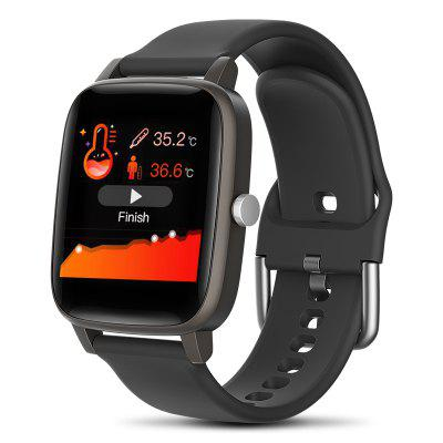 T98 Smart Watch Body Temperature Real-time Monitoring Blood Pressure Blood Oxygen Sleep Health Management Multi-functional Smartwatch