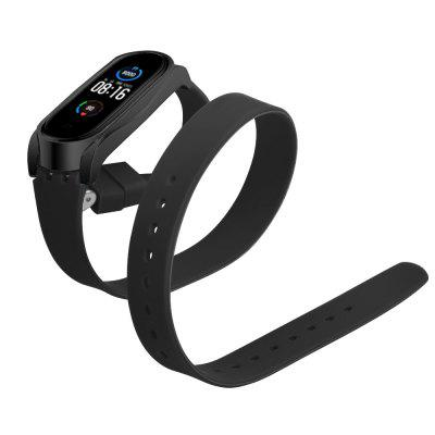 TAMISTER Buckle Metal Case Wristband for Xiaomi Band 5/5 NFC