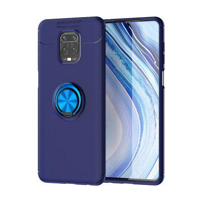 ASLING Metal Ring Series TPU Soft Phone Case Shell for Xiaomi Redmi Note 9S / Note 9 Pro / Note 9 Pro Max