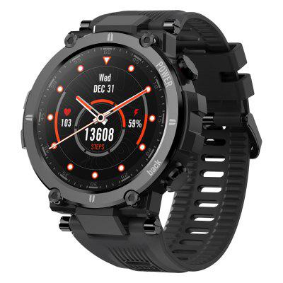 Kospet Raptor Outdoor Smart Watch Rugged 1.3 inch Smartwatch 30 Days 20 Sports Modes IP68 Waterproof Original Creative UI Watch Face - Black