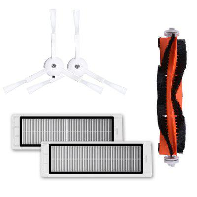 Side Brush Rolling Filter Accessories Set for Xiaomi Mi Vacuum Cleaner Robot