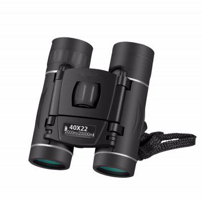 Mini 40x22 Binocular High-magnification HD Night Vision Telescope Outdoor Portable