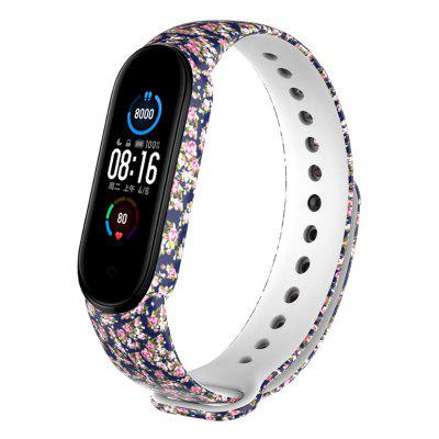 TAMISTER Colored Pattern Replacement Wristband for Mi Band 5 Printing Personalized