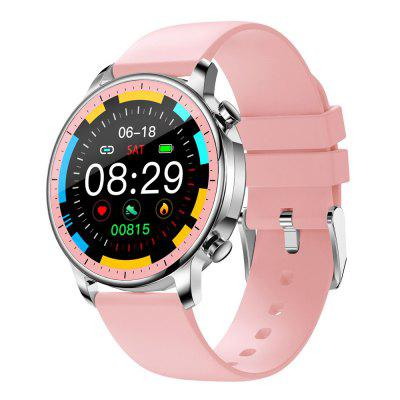 V23 Round Full Touch Body Temperature Detection Heart Rate Measurement Smart Watch Health Fashion HD Resolution Smartwatch