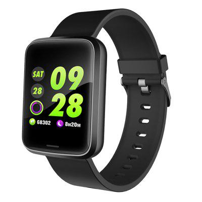 DT67 NFC Function Fitness Tracker Smart Watch with Weather Temperature Air Quality Checking Smartwatch GPS and Sports Managements Wristband Monitor Waterproof Pedometer
