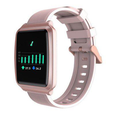 Y16 Smart Watch Body Temperature Information Synchronize Heart Rate Blood Pressure Sleep Monitoring Leisure Sports Health Smartwatch