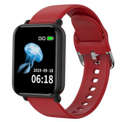 Gocomma R16 Smart Watch Bluetooth Multifunctional Exercise Heart Rate and Blood Pressure Measurement Multiple Exercise Modes Smartwatch