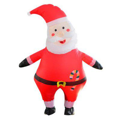 Christmas Santa Inflatable Costume Cosplay Doll Clothes