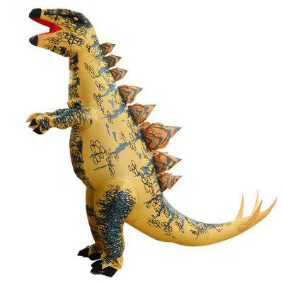 Halloween Tyrannosaurus Dinosaur Adult Children Show Cosplay Stegosaurus Inflatable Clothes Clothing