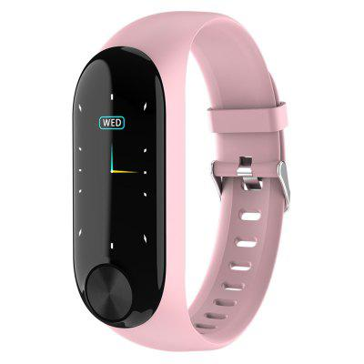 AD13 Smart Bracelet Color Screen Body Temperature Measurement Bluetooth Fitness Tracking Heart Rate Detector Wristband