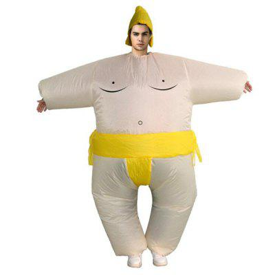 Christmas Inflatable Sumo Suits Japanese Doll Clothing Walking Clothes Bar Carnival Activities Cartoon