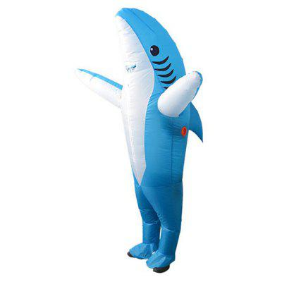 Halloween Costume Shark Inflatable Doll Clothes Cartoon Role-playing Theatrical Props Animal Walks Clothing