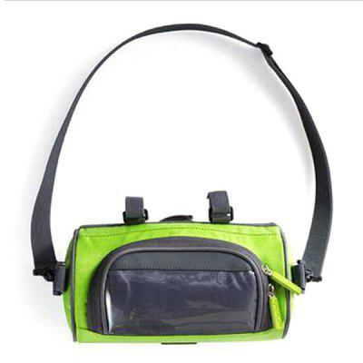 Bicycle Handlebar Bag Front Pack Touch Screen Mobile Phone Package Mountain Bike Riding Accessories