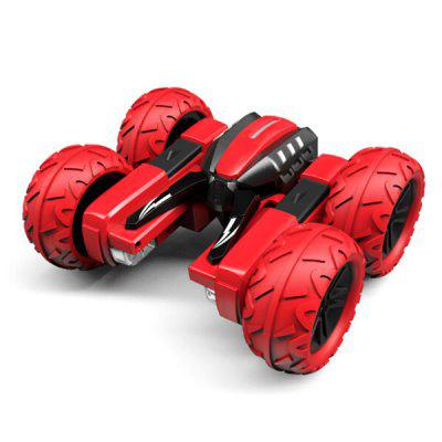 2.4G Stunt Car Lights Dancing Arm Stretching Deformation Double Sided Four Wheel Drive Remote Control