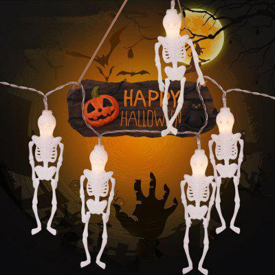 New Halloween String Lights Pumpkin LED Holiday Ghost Spider Battery