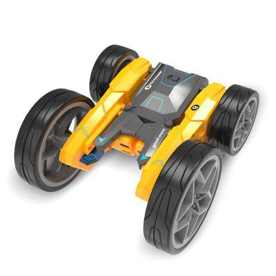 H835 Four-way Remote Control Car Electric RC Stunt High-speed Deformation Off-road Double-sided Childrens Toys