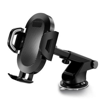 S113 Long Rod Auto Lock Car Phone Holder Telescopic Suction Cup Bracket Air Outlet