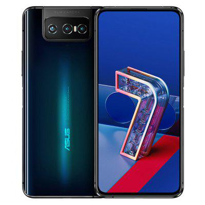 ASUS Zenfone 7 Pro 5G Smartphone 8GB RAM 256GB ROM Snapdragon 865Plus 64MP + 12MP 8MP Rear Camera 5000mAh NFC Android 10 6.67-inch 90Hz Global Version