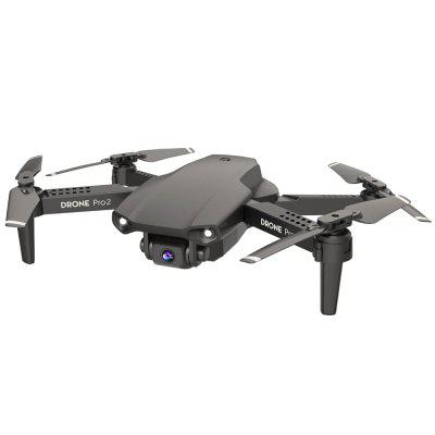 E99 Pro Quadcopter 4K Camera Folding Fixed Height Remote Control Aircraft HD Aerial RC Drone Toy Image