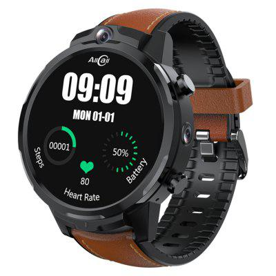 ALLCALL Awatch GT2 Watch Phone Face ID Dual Cameras 4G Smartwatch 1.6 Inch 400 X 400 HD Resolution Ceramic Cooling 1080mAh Android 3GB RAM 32GB ROM Healthcare Sports Smart Watch For Men