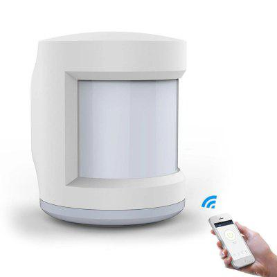 MoesHouse ZB-IS Zigbee Smart Home Voice Control Infrared Body Sensor IR Movement Detection Alarm System