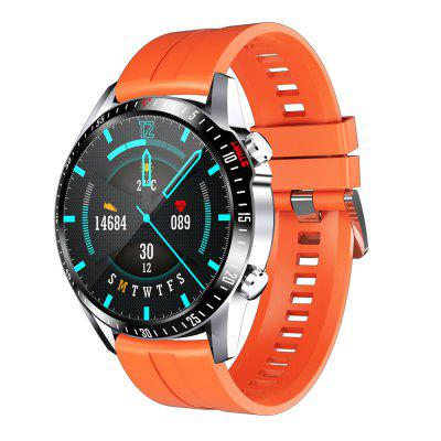 CK29 1.28 inch Smart Watch Long Standby Body Temperature Detection Bluetooth 5.0 Heart Rate Blood Pressure Healthy Multi-sports Waterproof Smartwatch