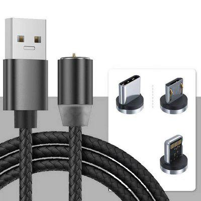 Magnetic Data Cable Android Micro USB 8 Pin 3-in-1 Charging Line 8 pin to two 6 2 pin 12v gpu 65cm power cable