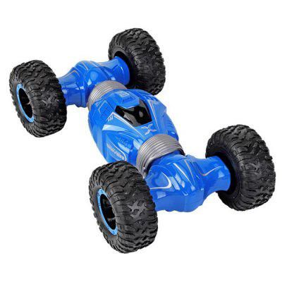 YDJ-D838 Children RC Stunt Car Toy Double-sided Flip Twisted Climbing Vehicle Remote Control Four-wheel Drive Deformed Off-road