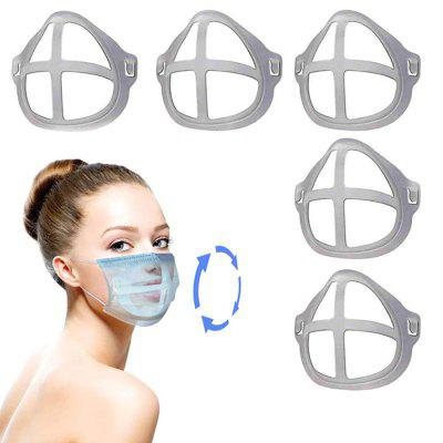 3D Face Mask Inner Pad Bracket Holder Safe and Dustproof Not Stain Lipstick