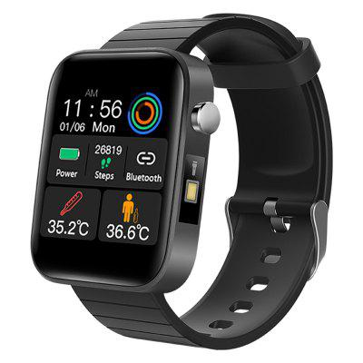 T68 Smart Watch Body Temperature Heart Rate and Blood Pressure Information Reminder Multi-language Smartwatch